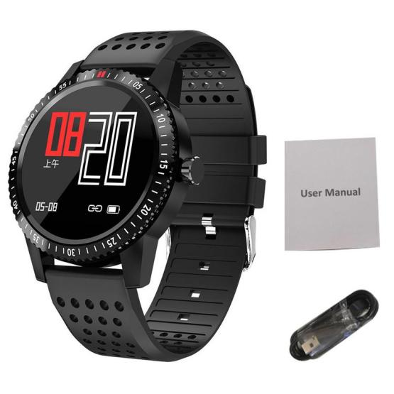 1.3 Inch Color Screen Smart Watch Sport Heart Rate Monitoring