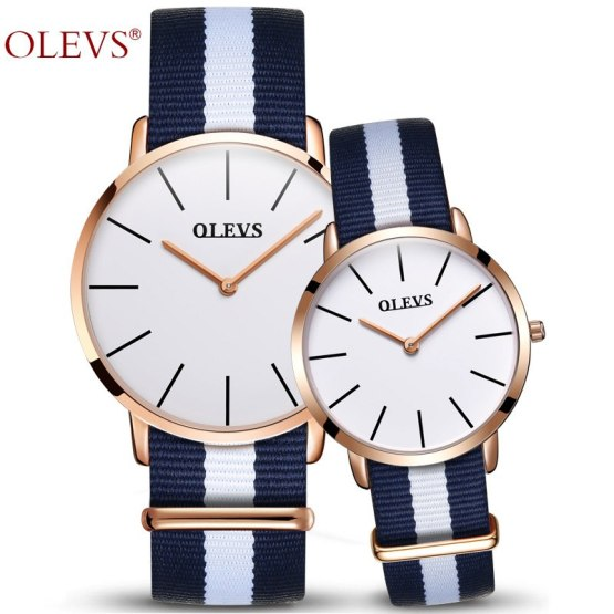 Couple Watch OLEVS Luxury Brand Watches Women and Men Wristwatch