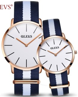 Couple Watch OLEVS Luxury Brand Watches Women and Men Wristwatch