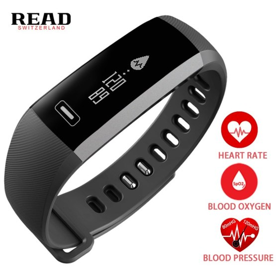 Original READ R5 pro Smart wrist Band Heart rate Blood Pressure Oxygen Watch