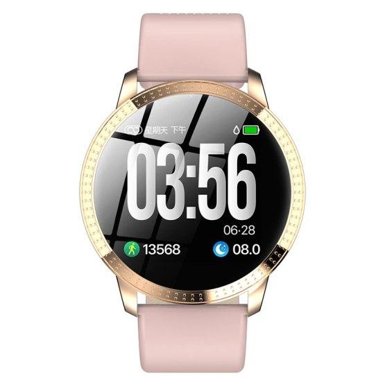 CF18 Smart Watch Men Women Heart Rate Monitor Blood Pressure