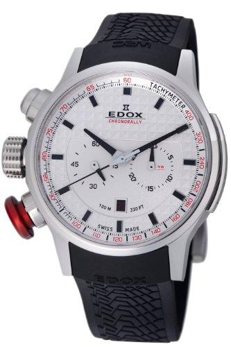 Edox Men's 10302 3 AIN WRC Chronorally Watch