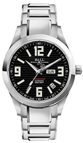Ball Arabic Chronometer Black Dial Automatic Mens Watch NM2026C-S2CA-BK