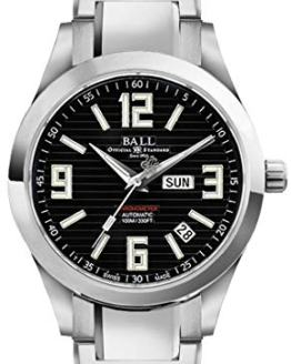 Ball Arabic Chronometer Black Dial Automatic Mens Watch NM2026C-S2CA-BK