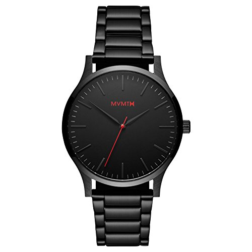 MVMT 40 Series Watches | 40 MM Men's Analog Watch | Black Link