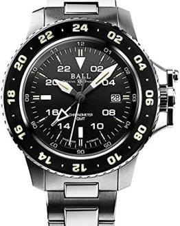 Ball Gents-Wristwatch Engineer Hydrocarbon AeroGMT Date GMT Analog Automatic DG2016A-SCJ-BK