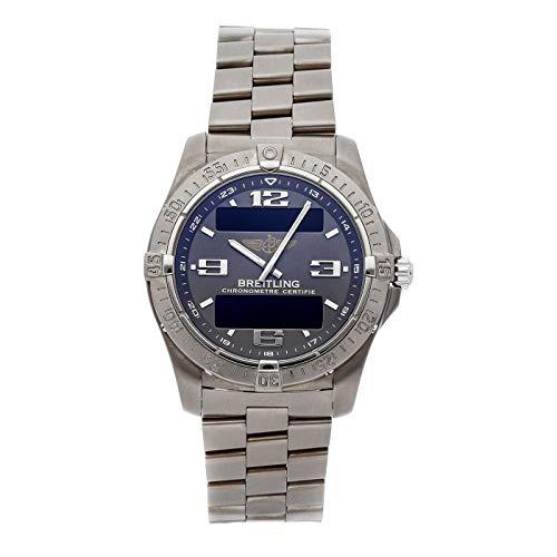 Breitling Aerospace Quartz (Battery) Grey Dial Mens Watch E7936210/M513 (Certified Pre-Owned)