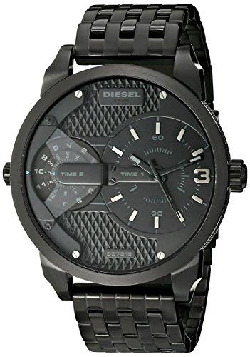 Diesel Men's DZ7316 Mini Daddy Black Stainless Steel Watch
