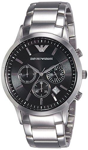Emporio Armani Men's AR2434 Dress Silver Watch