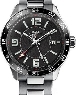 Ball Watch Engineer Master II 2nd-Time-Zone Automatic Pilot GMT Black Dial GM3090C-SAJ-BK