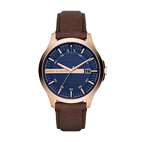 A|X ARMANI EXCHANGE Men's AX2172 Brown Leather Watch