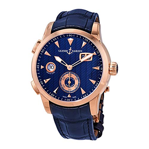 Ulysse Nardin Classic Dual Time Automatic Men's GMT Limited Edition Watch 3346-126LE/93