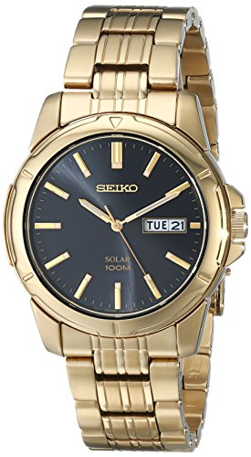 Seiko Men's SNE100 Solar Functional Watch