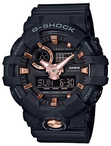 Casio G-Shock Men's GA-710B-1A4 Black/Rose Gold One Size