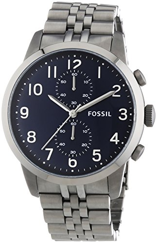 "Fossil Men's FS4894 ""Townsman"" Stainless Steel Watch"