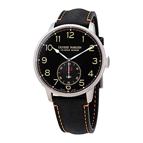 Ulysse Nardin Marine Torpilleur Automatic Black Dial Men's Watch 1183-320LE/62