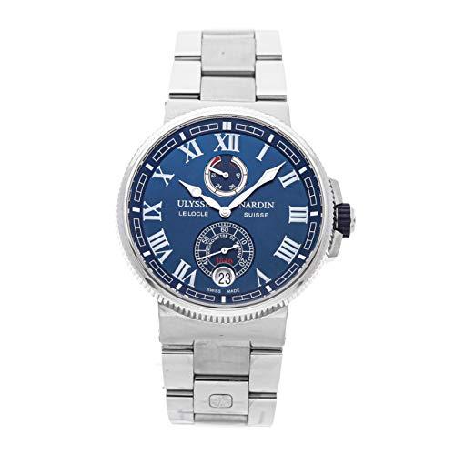 Ulysse Nardin Marine Mechanical (Automatic) Blue Dial Mens Watch