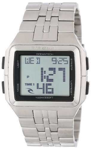 Rip Curl Men's A2577 - WHI Drift Stainless Steel Classic Digital Watch