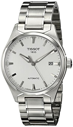 Tissot Men's T0604071103100 T-Tempo Analog Display Swiss Automatic Silver Watch
