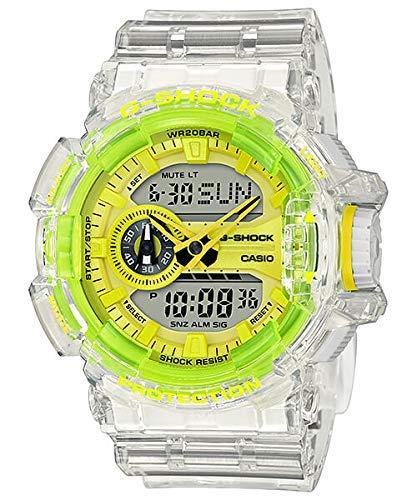 G-Shock GA400SK-1A9 Watch - Clear/Yellow
