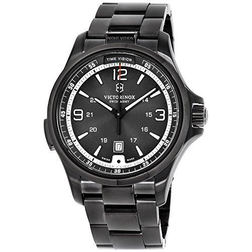 Victorinox Night Vision Black Dial Stainless Steel Men's Watch 241665XG (Certified Refurbished)