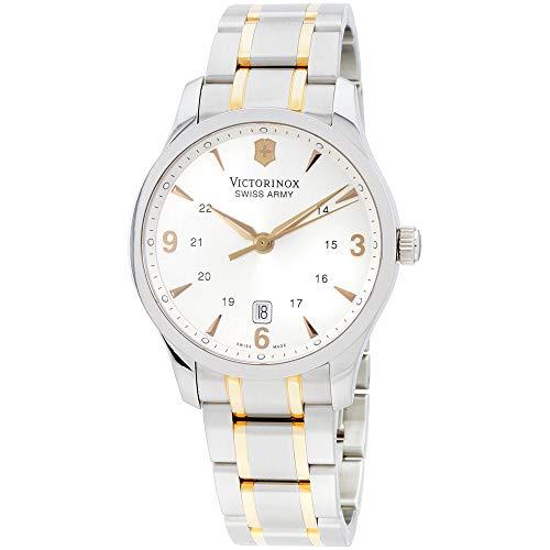 Victorinox Alliance Silver Dial Stainless Steel Mens Watch 241477XG (Renewed)