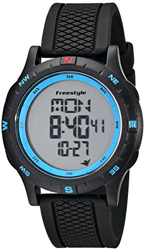 """Freestyle Unisex 101157 """"Navigator"""" Watch with Black Silicone Band"""