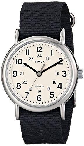 Timex Unisex Weekender Watch with Grey Nylon Band