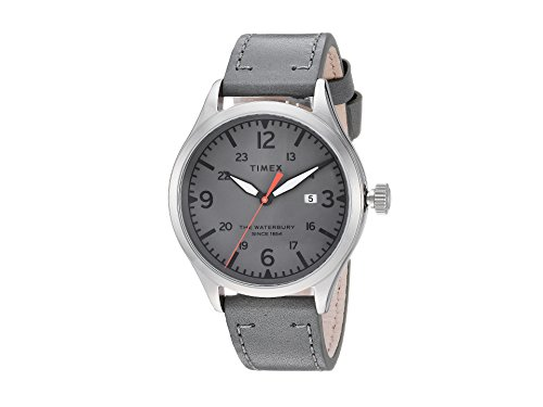 Timex Men's Waterbury Traditional 3-Hand with Date Grey