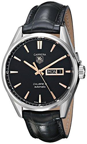 TAG Heuer Men's Carrera Analog Display Analog Black Watch