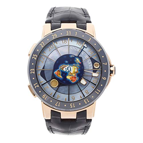 Ulysse Nardin Executive Mechanical (Automatic) Blue Dial Mens Watch 1062-113 (Certified Pre-Owned)