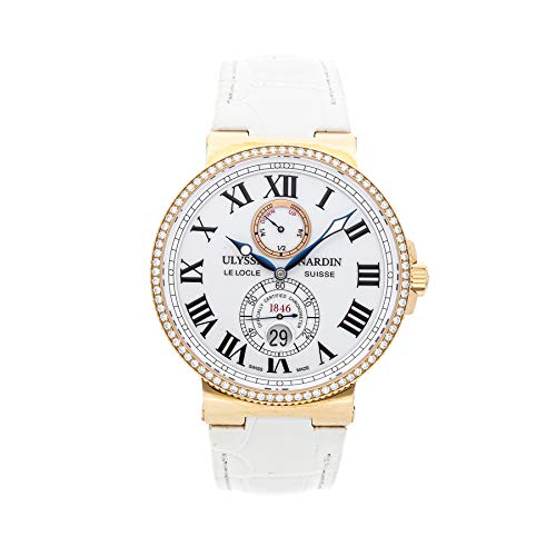 Ulysse Nardin Marine Mechanical (Automatic) White Dial Mens Watch