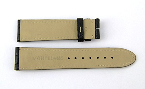 Sport Black 100% Alligator Strap Band 100/70/19 mm 9452#11 for Montblanc    SPORT GENUINE ALLIGATOR STRAP - #11 19 mm. Coloration: BLACK IDENT: 9452 LARGE SIZE   SPORT GENUINE ALLIGATOR STRAP - #11 LARGE SIZE, 19 mm Coloration: BLACK Please See ALL Footage, as they're Essential A part of a Description. All doable and Unattainable Measurements are within the Footage. 100% AUTHENTIC & 100% BRAND NEW - GUARANTEED ORIGINAL PACKAGING (that is an genuine Montblanc Alternative Half) No Packing containers Included. (It By no means Got here With Field) IDENT: 9452 This IS A RARE and NEW, NEVER used merchandise. This Strap May be Used With ANY Excessive Finish Watches.
