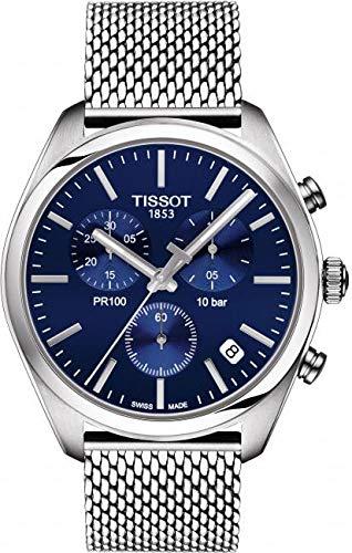 Tissot Men's PR 100 Chronograph - T1014171104100 Blue/Silver One Size