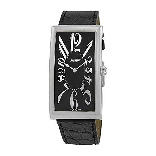 Tissot Heritage Black Dial Black Leather Men's Watch T1175091605200