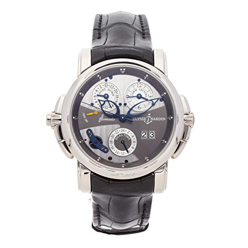 Ulysse Nardin Sonata Mechanical (Automatic) Grey Dial Mens Watch 670-88/212 (Certified Pre-Owned)
