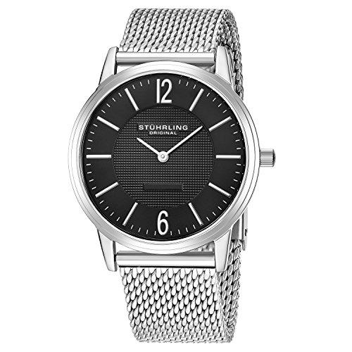 Stuhrling Original Men's Classic Ascot Somerset Elite Swiss Quartz Watch
