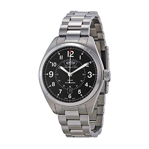 Hamilton Men's H70505133 Khaki Field Analog Display Automatic Self Wind Silver Watch