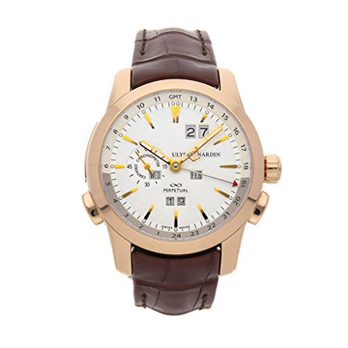 Ulysse Nardin Manufacturer Mechanical (Automatic) White Dial Mens Watch