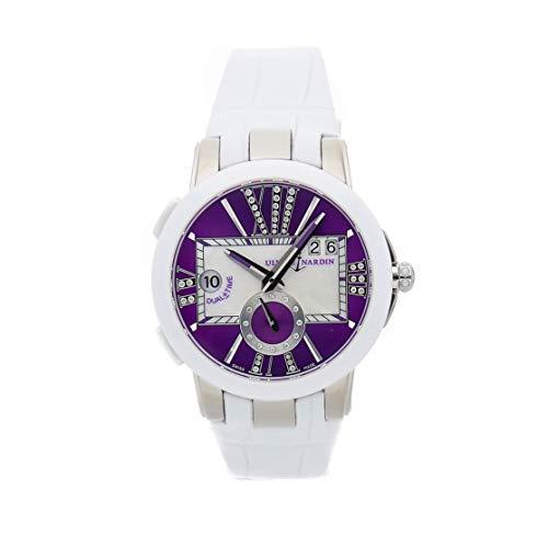 Ulysse Nardin Executive Dual Time Mechanical (Automatic) Purple Dial