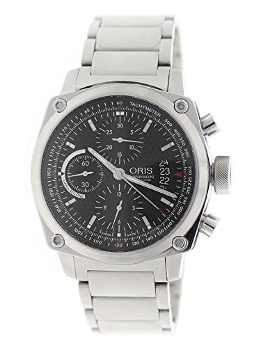 Oris BC4 Chronograph Automatic Men's 42mm Black Dial 01 674 7616 4154-07 8 22 58