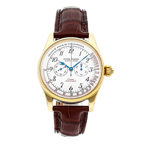 Ulysse Nardin Classico Mechanical (Hand-Winding) White Dial Mens Watch 381-22 (Certified Pre-Owned)