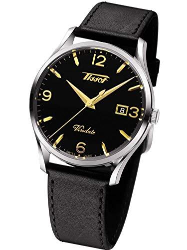 Tissot Men's Heritage Visodate - T1184101605701 Black/Silver One Size