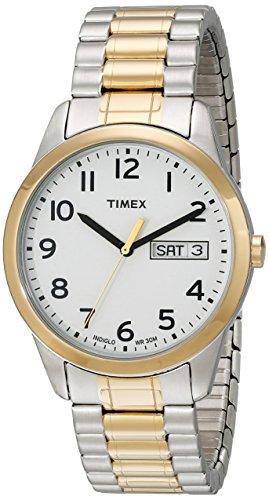 Timex Men's South Street Sport Brown Croco Pattern Leather