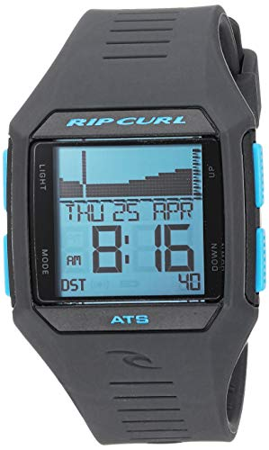 Rip Curl Men's Quartz Sport Watch with Polyurethane Strap, Blue, 22.8 (Model: A1124BLT1SZ)