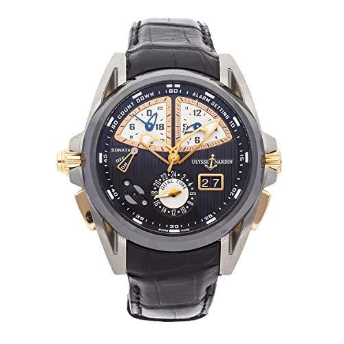 Ulysse Nardin Sonata Mechanical (Automatic) Black Dial Mens Watch
