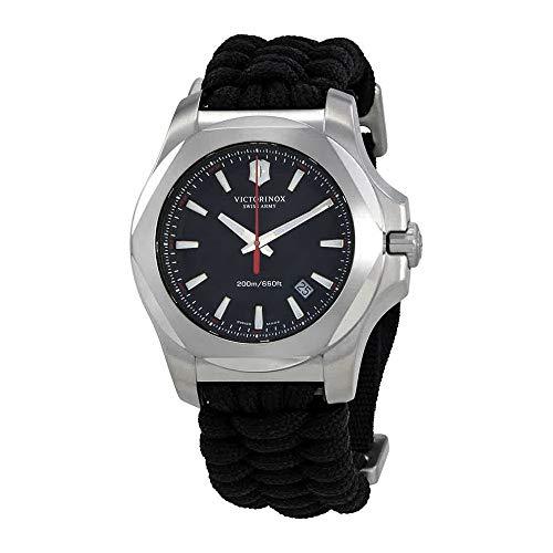 Viictorinox I.N.O.X Grey Dial Swiss Quartz Mens Watch