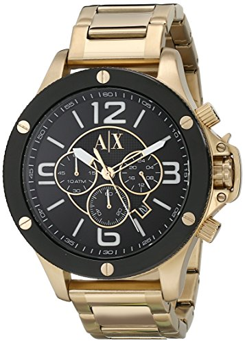 Armani Exchange Men's Gold Watch