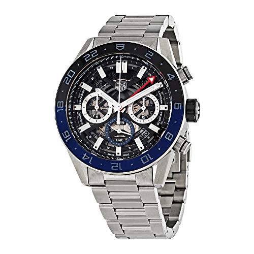 Tag Heuer Carrera Black Skeleton Dial Men's Watch