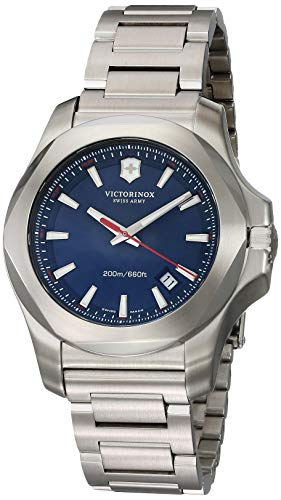 Victorinox Swiss Army Men's Quartz Watch with i.n.o.x. Analogue Quartz Stainless